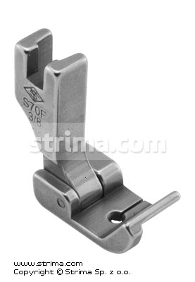 Foot for binders and hemmers - S70F-3/8
