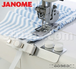 Elastic gathering attachment 6.0 - 8.5 mm for JANOME 1000CPX - 795816105 JANOME