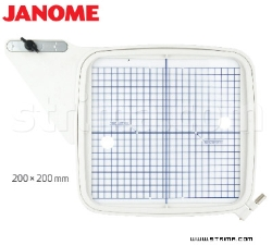Hoop 200x200 mm for JANOME MC 11000 - HOOP SQ JANOME