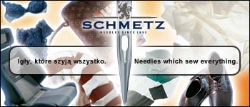 SCHMETZ sewing machine needle nickel-plated, PTFE coated G05 + extra charge, 1box = 100 pcs - UY 128 GAS SES NIT  65