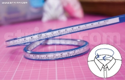 Design flexible curve ruler, 60 cm vinyl - DF-060