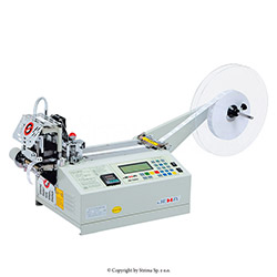 Automatic tape cutting machine, straight or slant cut - JM-120HX
