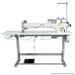 Zoje automatic long arm lockstitch machine with puller - complete sewing machine - ZOJE ZJ9701LAR-D3-800/PF SET