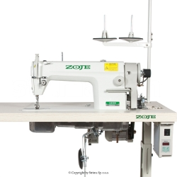 Lockstitch machine for heavy materials with large hook - complete machine - ZOJE ZJ8500H SERVO Z SET