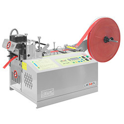Automatic tape cutting machine, hot knife and cold knife - JM-110LR