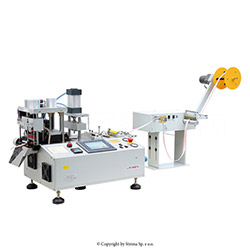 Automatic tape cutting machine, straight or slant cut - JM-150HX