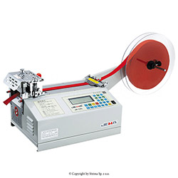 Tape cutting machine, hot knife