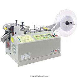 Automatic tape cutting machine, hot knife and cold knife - JM-110R