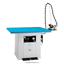 Steaming table 160 x 80 cm for knitted fabric with steam generator 18kW - BATTISTELLA EROS MAXI VAP SG 18KW 160x80