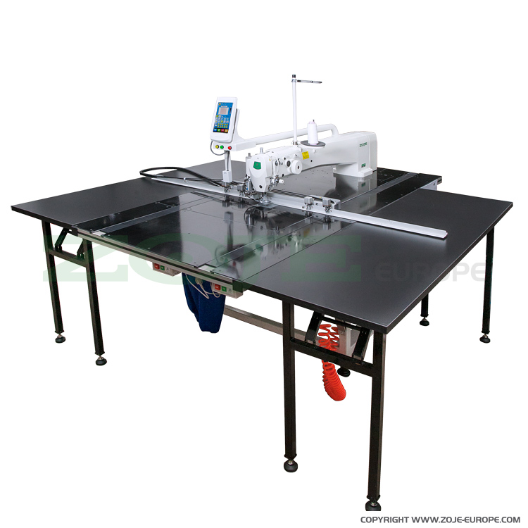 Pattern sewing machine for very large elements, with knife for cutting in every direction - ZOJE ZJ-AM5-AH-RK-900 SET