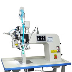Seam sealing machine