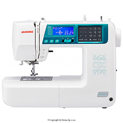 Computerized sewing machine, 457 sewing programs
