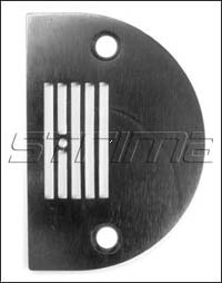 Throat plate with 5 grooves - 143402+