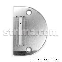 Needle plate for light/standard fabrics for needle feed for Juki, Siruba, Pfaff and others