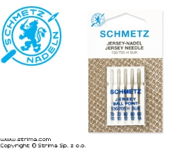 SCHMETZ ball point needles 130/705H-SUK, 5pcs. 2x70, 2x80, 1x90 - 130/705 H SUK VHS
