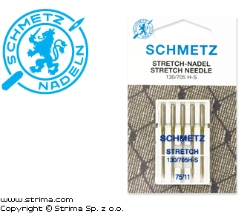SCHMETZ stretch needles 130/705H-S, 5pcs. 5x75 - 130/705 H-S VMS