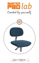 Seat and back-rest - upholstered - SYSTEM PRO LAB 1C