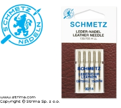 SCHMETZ leather needles 130/705 H LL, 5pcs. - 130/705 H LL VDS