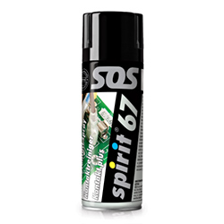 Čistilec kontaktov - SPIRIT 67 - spray 400 ml