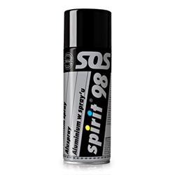 Aluminijasti sprej - SPIRIT 98 - spray 400 ml